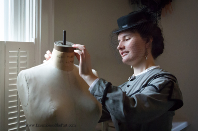 Ensembles of the Past - Sara Gonzalez - Contact - Fitting - Historical Dress