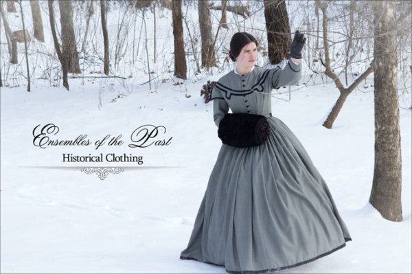 Ensembles of the Past - Historical Clothing - Sara Gonzalez - 1860's Gown